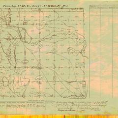 [Public Land Survey System map: Wisconsin Township 17 North, Range 11 East]
