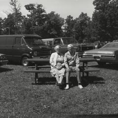 MacWhyte employees at company picnic