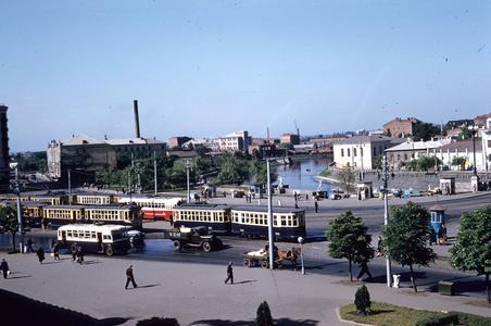 Streetcars in Kharkov