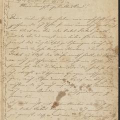 [Letter from Kajetan Sternberger to his son, Ferdinand, March 2, 1860]