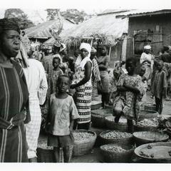 Kola traders at Oshu market