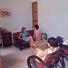 Staff room at the International School