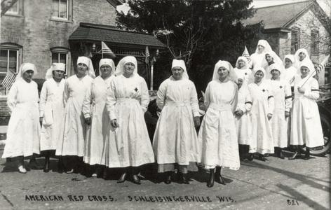 Schleisingerville's Red Cross Volunteers