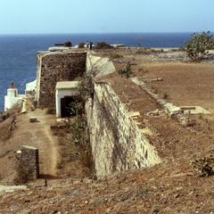 Fortifications on Gorée Island