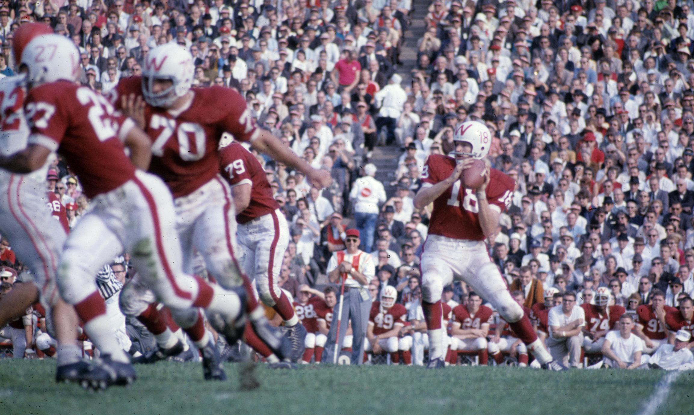 1963 Rose Bowl gameplay