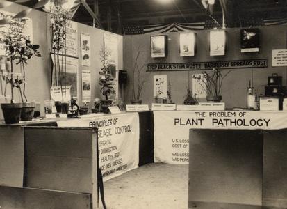 Plant pathology booth