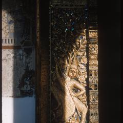 Vat Nong--detail of doors