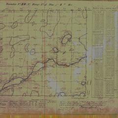 [Public Land Survey System map: Wisconsin Township 40 North, Range 05 West]