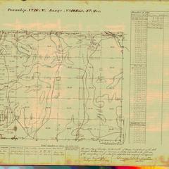 [Public Land Survey System map: Wisconsin Township 16 North, Range 10 East]