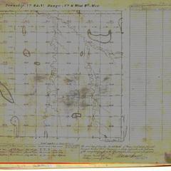 [Public Land Survey System map: Wisconsin Township 25 North, Range 06 West]