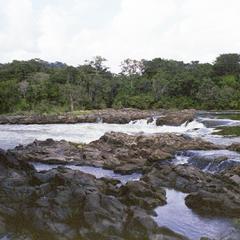 Tsamba Magotsi Falls near Fougamou, Gabon
