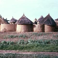 Round Adobe Houses of Mossis