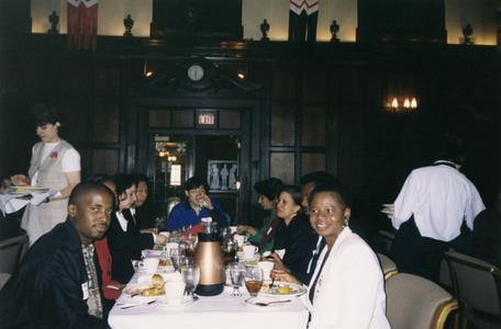 Lunch at 1998 Multicultural Graduation Celebration