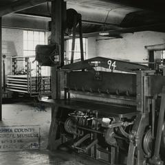Hannahs Manufacturing Company factory interior