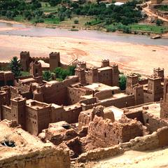 Ruins of a Fortified Town in the High Atlas