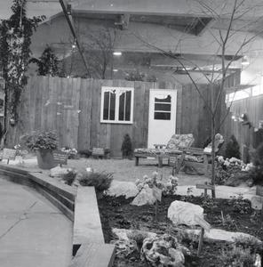 Patio Display, College of Agriculture Flower Show, 1967