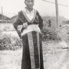A White Hmong woman in Xiang Khoang Province
