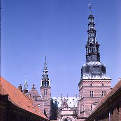 Frederiksborg Palace spires