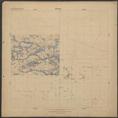 Geological map of area north of Metropolitan (Dickinson County, Michigan)