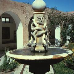 Fountain, Pre-1800, in Far Courtyard of the Serai al-Hamra