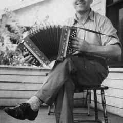 Otto Rindlisbacher and accordion