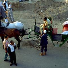 Carriage at Djemaa el-Fna Square