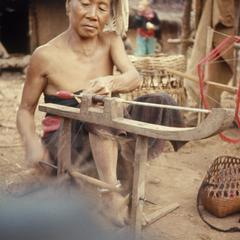 Spinning thread