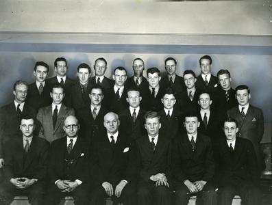 Epsilon Pi Tau group photograph