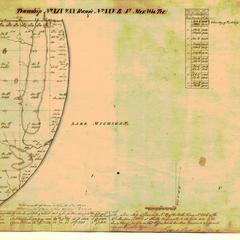 [Public Land Survey System map: Wisconsin Township 20 North, Range 25 East]