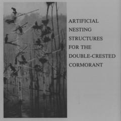 Artificial nesting structures for the double-crested cormorant