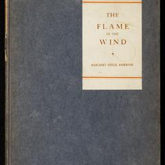 The flame in the wind