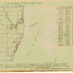 [Public Land Survey System map: Wisconsin Township 03 North, Range 23 East]