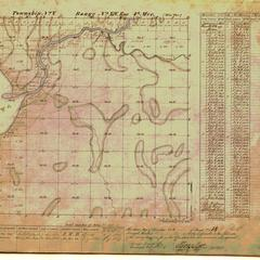 [Public Land Survey System map: Wisconsin Township 05 North, Range 14 East]