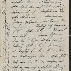 [Letter from Ludwig Sternberger to his mother, Johanna Sternberger, February 4, 1849]