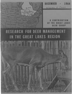 Research for deer management in the Great Lakes region
