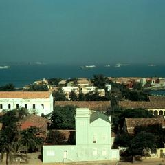 Overlooking the Island of Gorée from a Hill Site