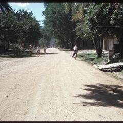 Roads leading into town