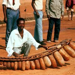 Chief's Marimba Player