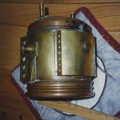 Badger Brass Phare Solar lamp