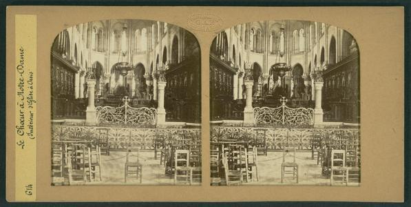 La choeur à Notre-Dame