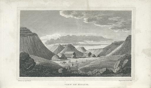 View of Holum.