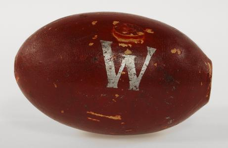 Wooden football whistle