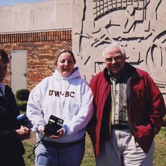 UW Barron County staff at Spring Fling event
