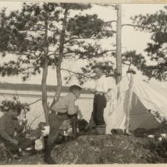 Camping in Quetico, June 13, 1924