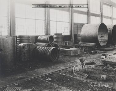 Corrugated furnaces with firebox
