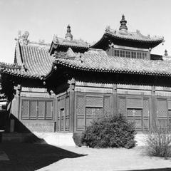 Yonghe Gong (Yonghegong Lamasery) 雍和宮.
