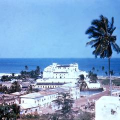 Elmina, a Coastal Town with Old Slave Fort