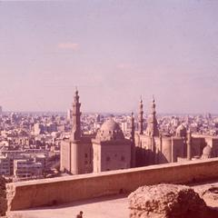 View of Cairo from Muhammad Ali Mosque (1830-57 A.D.)