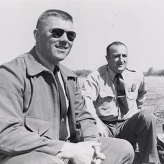 Wardens in boat