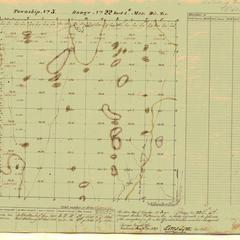 [Public Land Survey System map: Wisconsin Township 03 North, Range 22 East]